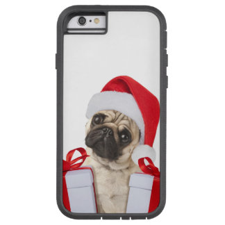 Funda Tough Xtreme Para iPhone 6 Regalos del barro amasado - perro Claus - barros