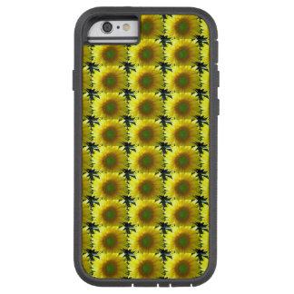 Funda Tough Xtreme Para iPhone 6 Repetición de los girasoles