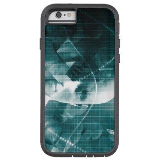 Funda Tough Xtreme Para iPhone 6 Tecnología futurista de la ciencia médica como