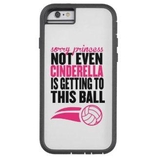 Funda Tough Xtreme Para iPhone 6 Voleibol: Princesa triste Ball