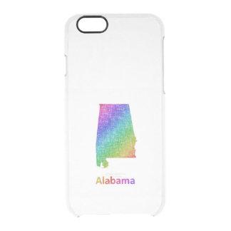 Funda Transparente Para iPhone 6/6s Alabama