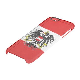 Funda Transparente Para iPhone 6/6s Bandera austríaca