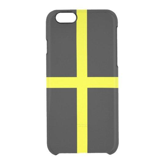 Funda Transparente Para iPhone 6/6s Bandera del caso claro del iPhone de David del