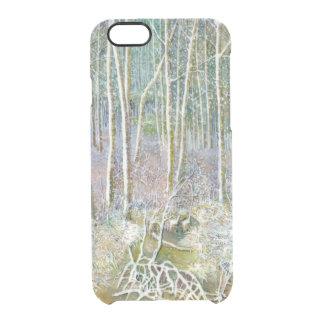 Funda Transparente Para iPhone 6/6s bosque del invierno