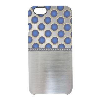 Funda Transparente Para iPhone 6/6s Caja azul fresca del claro del iPhone del modelo