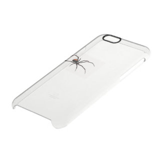 Funda Transparente Para iPhone 6/6s Caja salvaje del teléfono del caso (araña)
