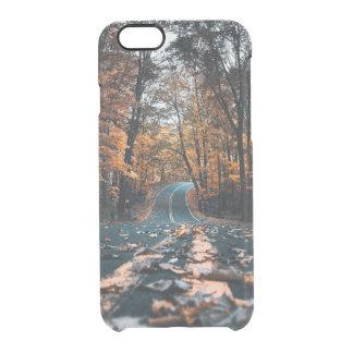 Funda Transparente Para iPhone 6/6s Camino forestal