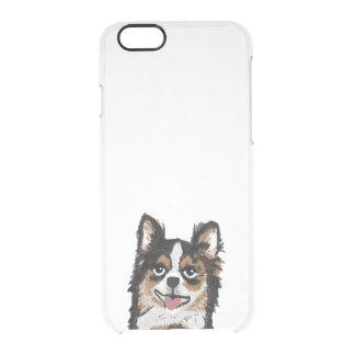 Funda Transparente Para iPhone 6/6s Caso del iphone de la chihuahua - caja del claro