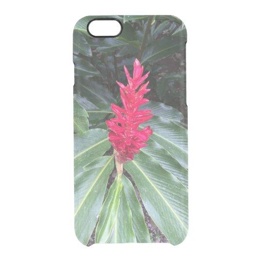 Funda Transparente Para iPhone 6/6s Caso del iPhone de la flor