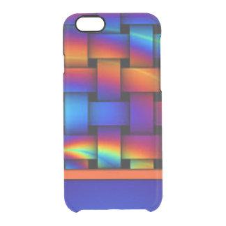 Funda Transparente Para iPhone 6/6s Diseño del modelo de armadura de cesta