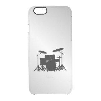 Funda Transparente Para iPhone 6/6s Diseño determinado de la música del tambor