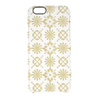 Funda Transparente Para iPhone 6/6s El Victorian del oro inspiró el modelo