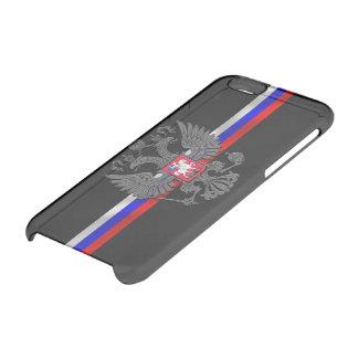 Funda Transparente Para iPhone 6/6s Escudo de armas ruso