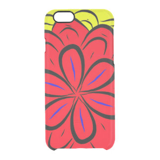 Funda Transparente Para iPhone 6/6s Español Flor