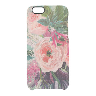 Funda Transparente Para iPhone 6/6s Estallido de la floración