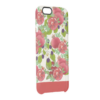 Funda Transparente Para iPhone 6/6s estampado de granadas