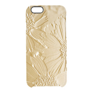 Funda Transparente Para iPhone 6/6s Flores 4 del extracto