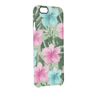 Funda Transparente Para iPhone 6/6s flores de verano