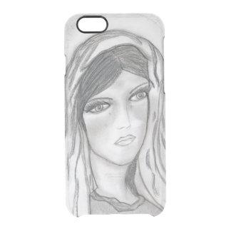 Funda Transparente Para iPhone 6/6s Griterío de Maria