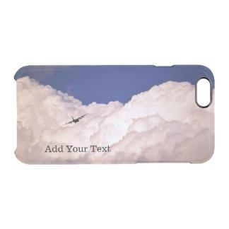 Funda Transparente Para iPhone 6/6s Los militares transportan el aeroplano de Shirley