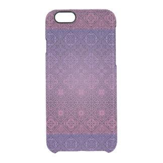 Funda Transparente Para iPhone 6/6s Modelo antiguo real de lujo floral