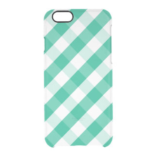 Funda Transparente Para iPhone 6/6s Modelo blanco verde simple de la guinga de St