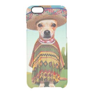 Funda Transparente Para iPhone 6/6s Perro mexicano, chihuahua