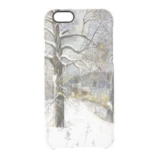 Funda Transparente Para iPhone 6/6s puente del invierno