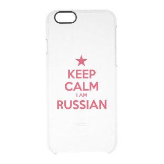 FUNDA TRANSPARENTE PARA iPhone 6/6S RUSIA