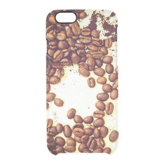 Funda Transparente Para iPhone 6/6s tiempo del café