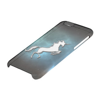 Funda Transparente Para iPhone 6/6s Unicornio
