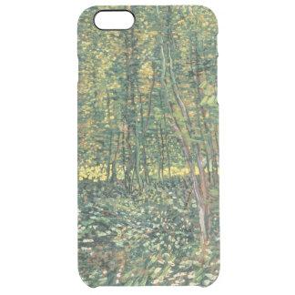 Funda Transparente Para iPhone 6 Plus Árboles y maleza, 1887 de Vincent van Gogh el  