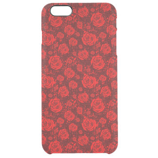 Funda Transparente Para iPhone 6 Plus color de rosa