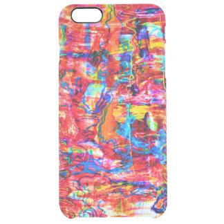 Funda Transparente Para iPhone 6 Plus El extracto multi lindo de los colores agita la