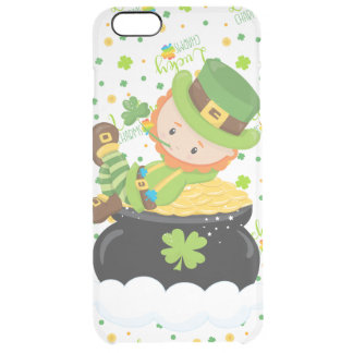 Funda Transparente Para iPhone 6 Plus El Leprechaun del arroz del St