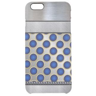 Funda Transparente Para iPhone 6 Plus iPhone azul fresco del modelo de la plata 3D más