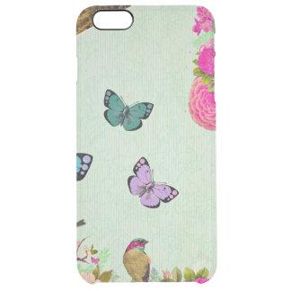 Funda Transparente Para iPhone 6 Plus Moda lamentable, moda francesa, vintage, floral,