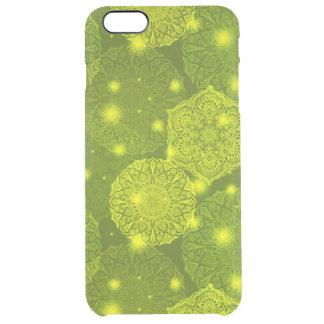 Funda Transparente Para iPhone 6 Plus Modelo de lujo floral de la mandala