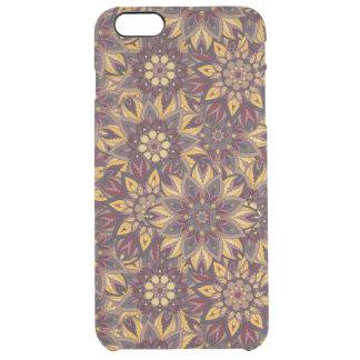 Funda Transparente Para iPhone 6 Plus Modelo floral étnico abstracto colorido de la