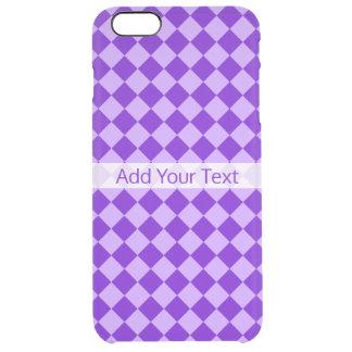 Funda Transparente Para iPhone 6 Plus Modelo púrpura del diamante de la combinación por