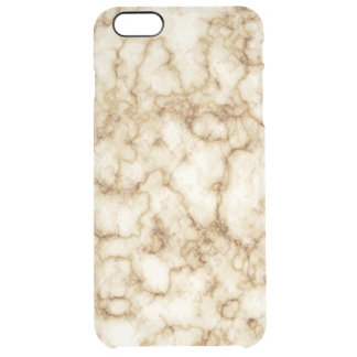 Funda Transparente Para iPhone 6 Plus Textura de mármol elegante