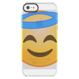 Funda Transparente Para iPhone SE/5/5s Ángel sonriente Emoji