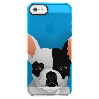 Funda Transparente Para iPhone SE/5/5s Arte del dogo - dogo francés