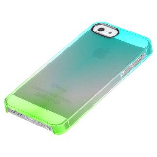 Funda Transparente Para iPhone SE/5/5s ¡Azules claros y verde claros!