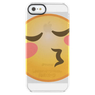 Funda Transparente Para iPhone SE/5/5s Besar Emoji