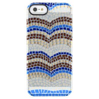 Funda Transparente Para iPhone SE/5/5s Caja azul de la desviación del iPhone 5/5s/SE del
