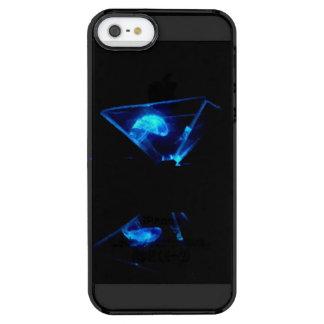 Funda Transparente Para iPhone SE/5/5s Caso de Iphone 5/5s del holograma de Jellywish