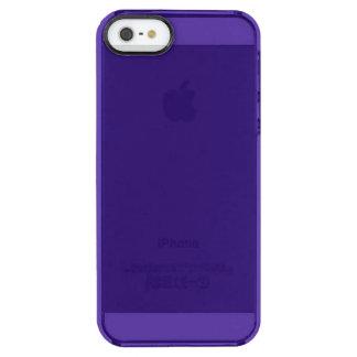 Funda Transparente Para iPhone SE/5/5s Color azul intuitivo idealista