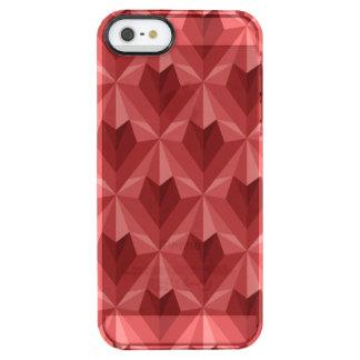 Funda Transparente Para iPhone SE/5/5s Corazón del polígono