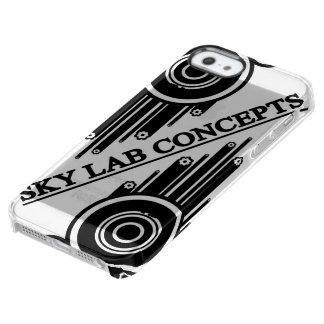 Funda Transparente Para iPhone SE/5/5s Cubierta del teléfono del Grunge